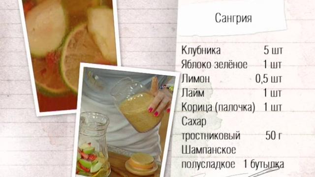 Сангрия рецепт классический с фото