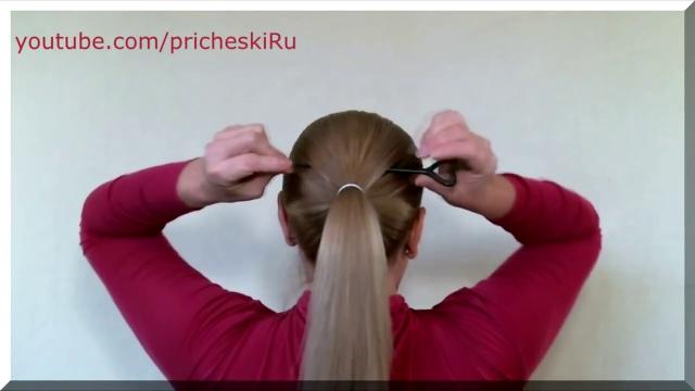прически самой себе на длинные волосы видео уроки