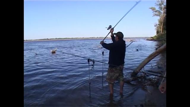 рыбалка внахлест видео