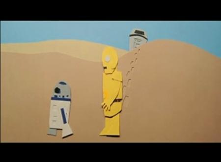 Звездные войны из бумаги - Новый альбом.