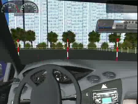 Хотите поднять навыки вождения не выходя из дома,тогда игра 3D-инструктор В