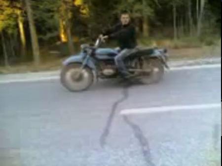 приколы на Мотоциклах Урал #6
