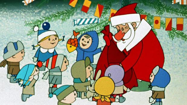 Мультик про дедушку мороза и новый год
