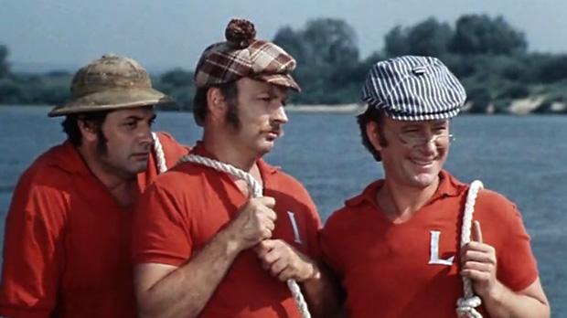 трое в лодке фильм сша